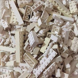 Whopping Bag of White LEGO